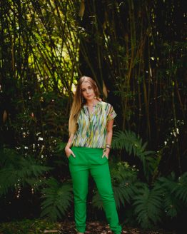 Shamrock elasticated pants