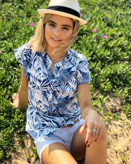 Bahama Button Up Blouse