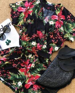 Paradise Wrap Playsuit