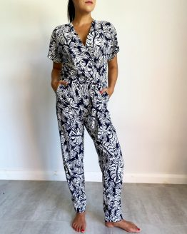 Capri Wrap Jumpsuit