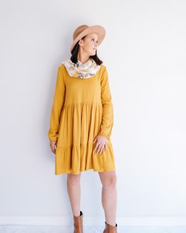 Tiered Tunic Dress