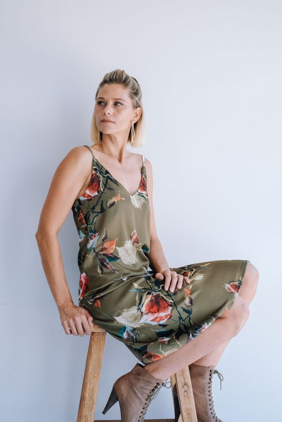 Aurora Silky Slip Dress
