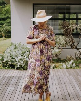 Valencia Floral Tiered Dress
