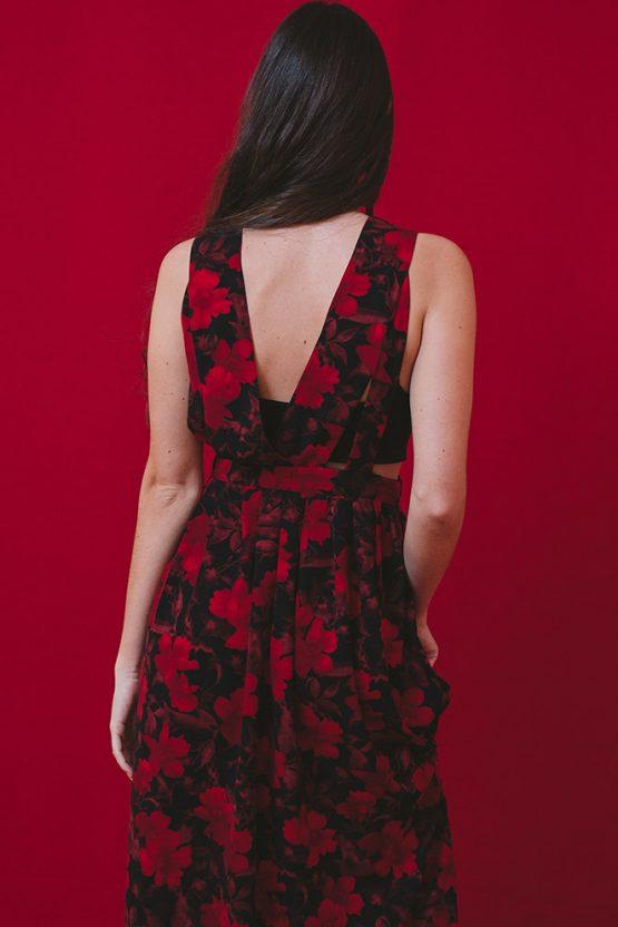 Scarlet Indo Flora Dress