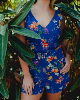 Botanical V-playsuit