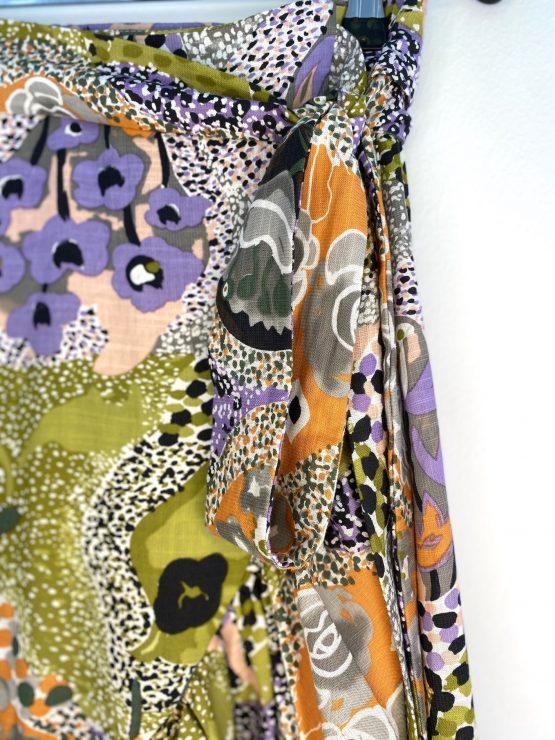 Anna Ruffle Wrap Skirt