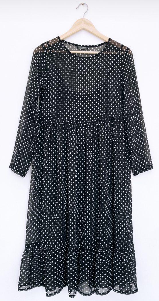 Liv Sheer Tiered Maxi Dress