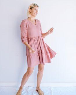 Maisy Tiered Tunic Dress