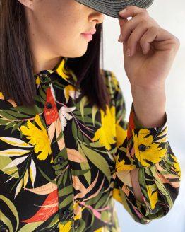 Evi Flared Shirt Dress