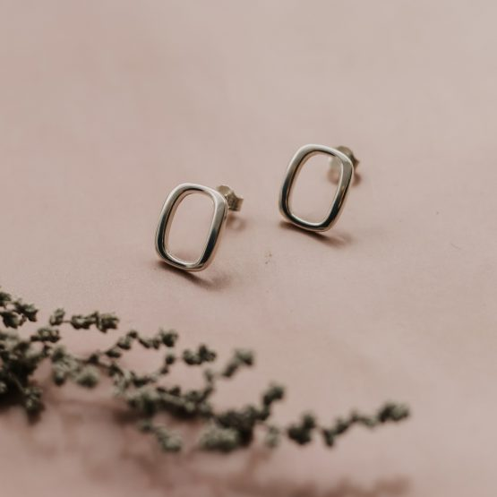 Square 'O' Rings - silver