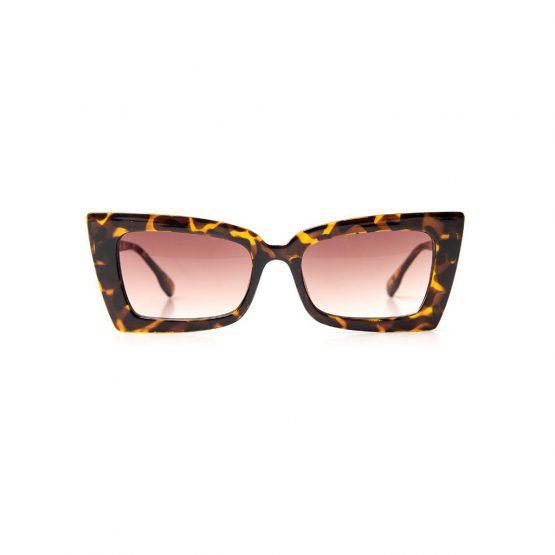 The Marina - sunglasses - tortoiseshell brown